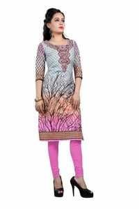 Designer Printed Cotton Kurtis