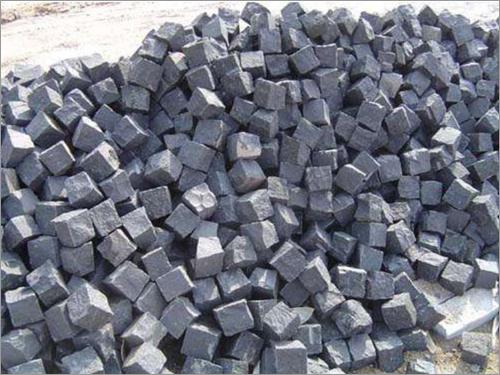 Cobble Black Granite