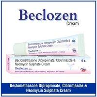 Beclomethasone +  Neomycin + Clotrimazole + Chlorocresol