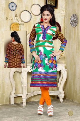 Printed Cotton Kurtis