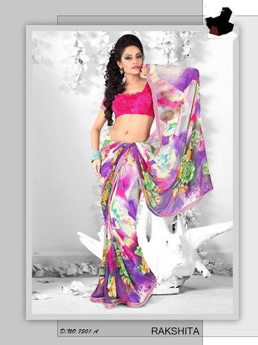 Printed Ladies Fancy Saree