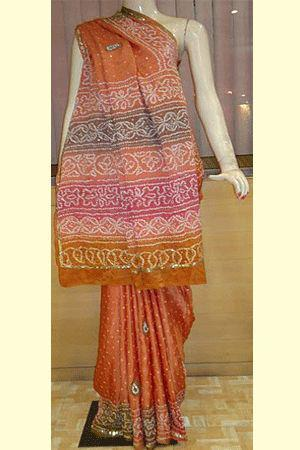 Tie Dye Ladies Saree