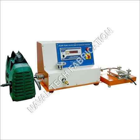 Pluri Tube Bursting Strength Tester