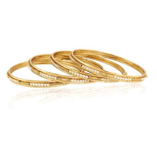 Classic Diamond Touch Bangle