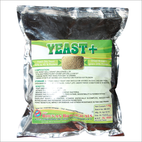 Yeast +(for aqua purpose)