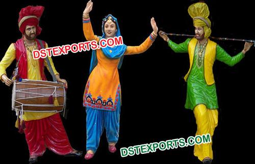 Rangla Punjab Fiber FRP Statues
