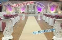 Paisleys Carrys Wedding Stage Decor Set