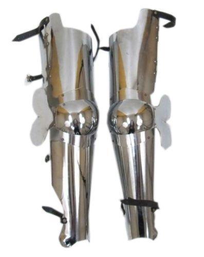 Full Leg Guard Armor  Medieval Knight Crusader Spartan