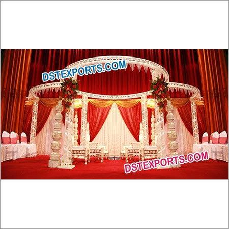 Crystal Mandap For Wedding
