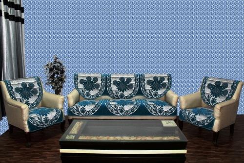 Rangoli Design Chenille Sofa Panel