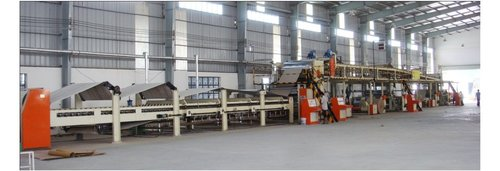 Automatic Corrugation Board Making Plant