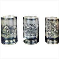 Silver Pattern Glasses
