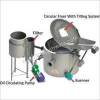 Circular Batch Fryer
