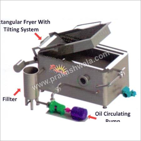 Rectangular Batch Fryer