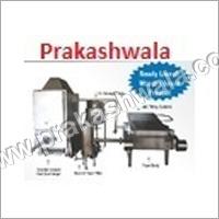 Rectangular Fryer With Wooden Heat Exchanger