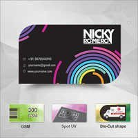 Standard Die Cut Business Cards(Mumbai)