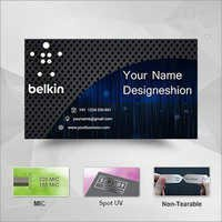 Non Tearable Visiting Cards