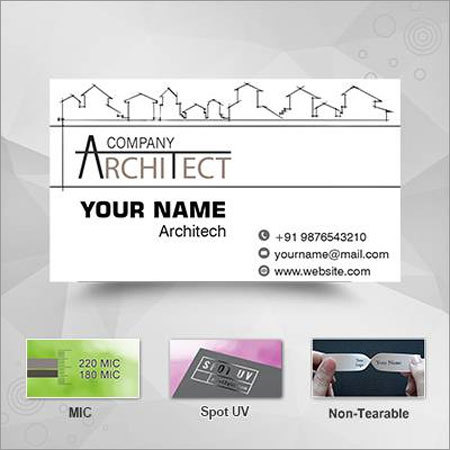 Printed Visiting Cards