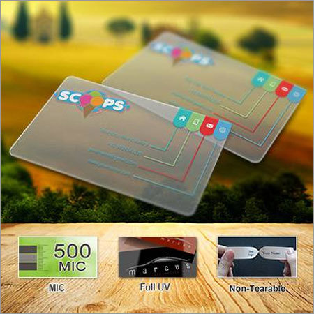 Metal business cards in mumbai maharashtra manufacturers suppliers transparent business cards transparent reheart Images