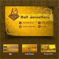 Gold Visiting Cards