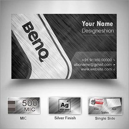 Silver Visiting Cards