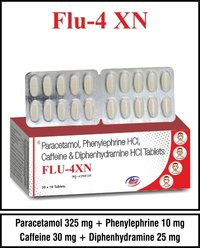Phenylephrine + Diphenhydramine + Paracetamol