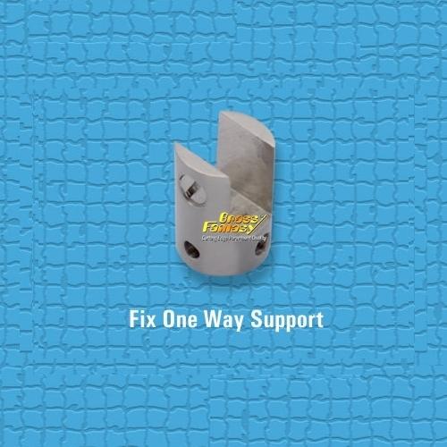 Brass Fix One Way Support