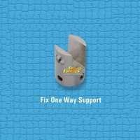 Brass Fix One Way Support