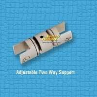 Brass Adjustable Two Way Support