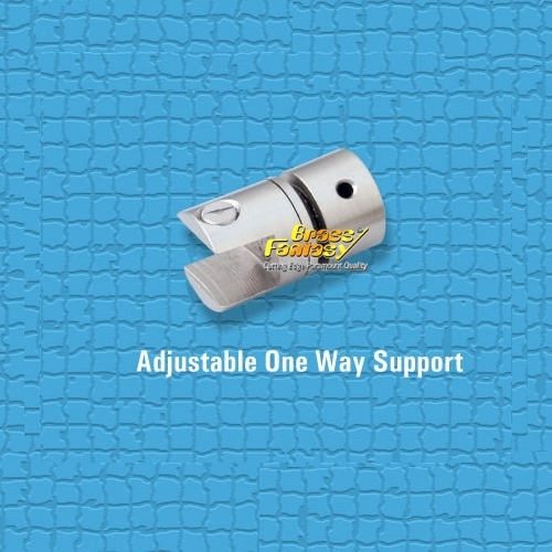 Brass Adjustable One Way Support