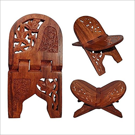 Wooden Folding Holy Book Stand