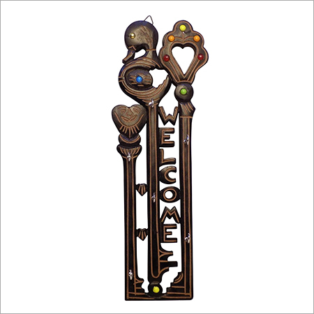 Wooden Wall Hanging Key Holder