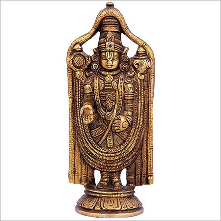 Lord Balaji Brass Sculpture