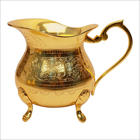 Antique Brass Metal Teapot