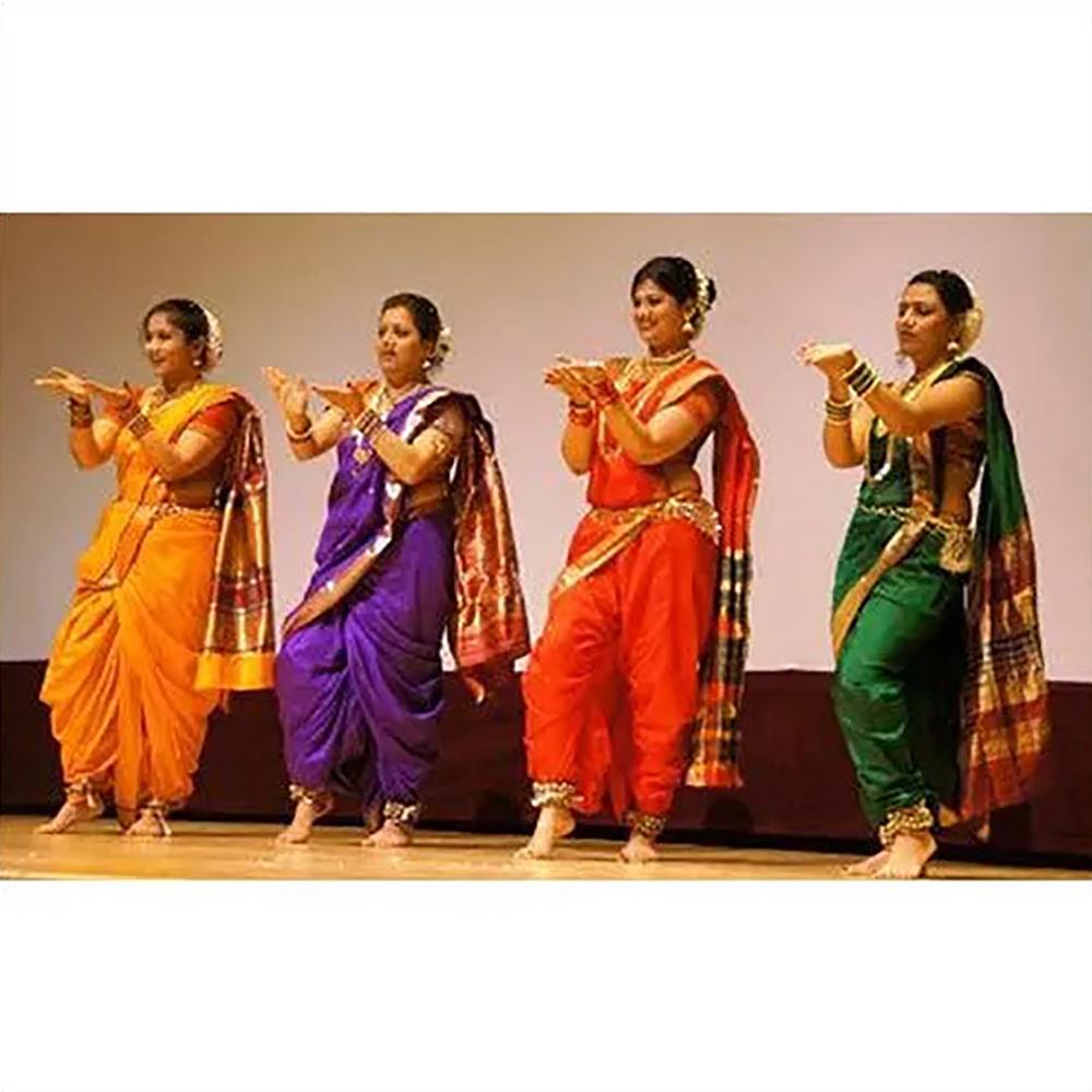 Marathi Lavani Group Costume