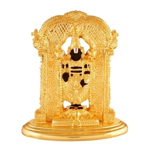 Gold Plated Tirupati Bala Ji Idol For Home temple