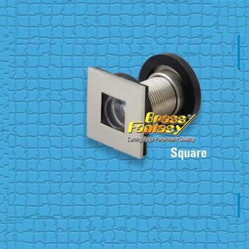 Brass Square Eye Viewer