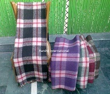 Reversible Wool Blanket