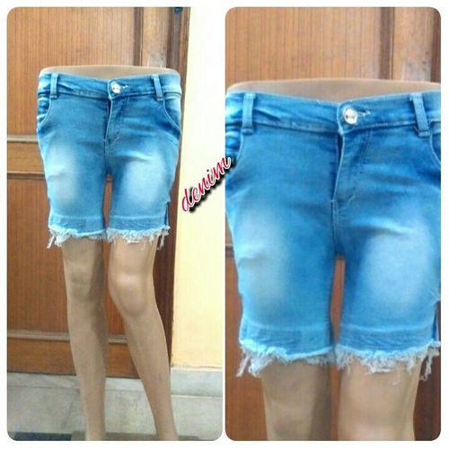 Ladies Denim Shorts