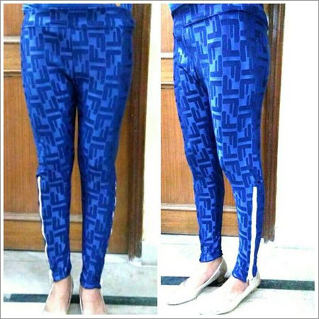 Imported stretchable side zipper jeggings