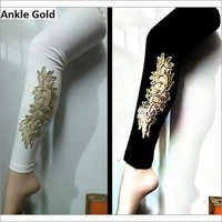 Golden Work Designer Leggings