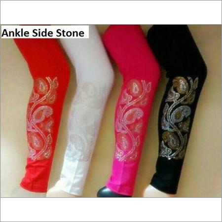 Stone Work Designer Leggings