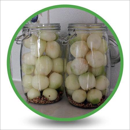 White Onion In Vinegar