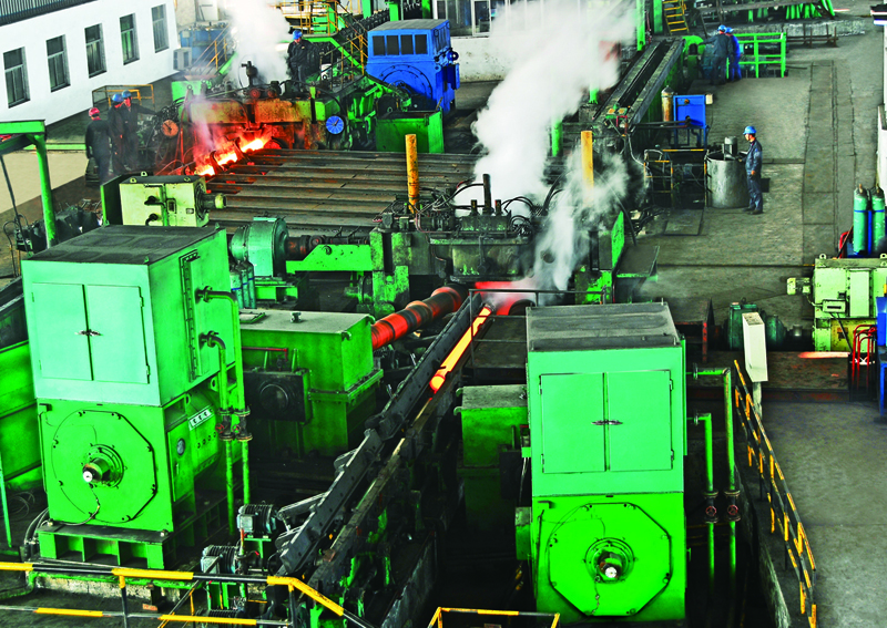 Hot Rolling Seamless Steel Pipe Plant