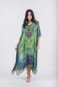 fancy printed kaftan