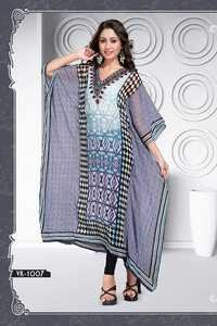 fancy designer kaftan