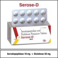 Serratiopeptidase 10 + Diclofenac 50