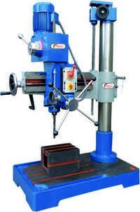 25mm semi all geared radial drill machine