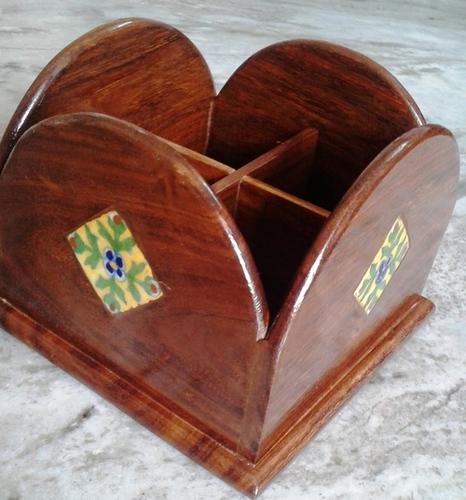 Wooden Handmade Remote Stand