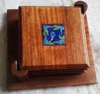 Handmade Wooden Tea Coaster